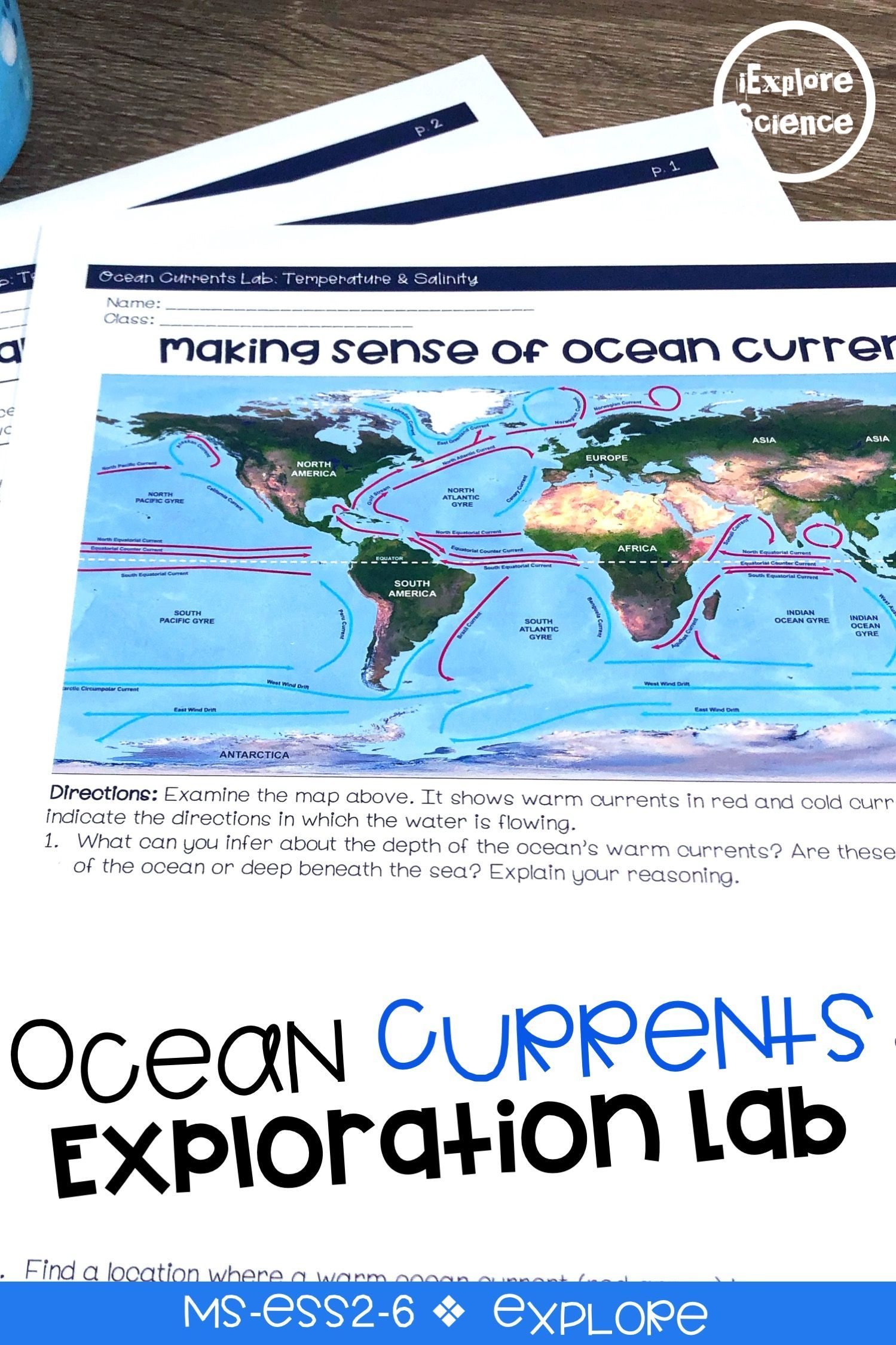 These Ocean Currents Activities Include Lessons To Explore