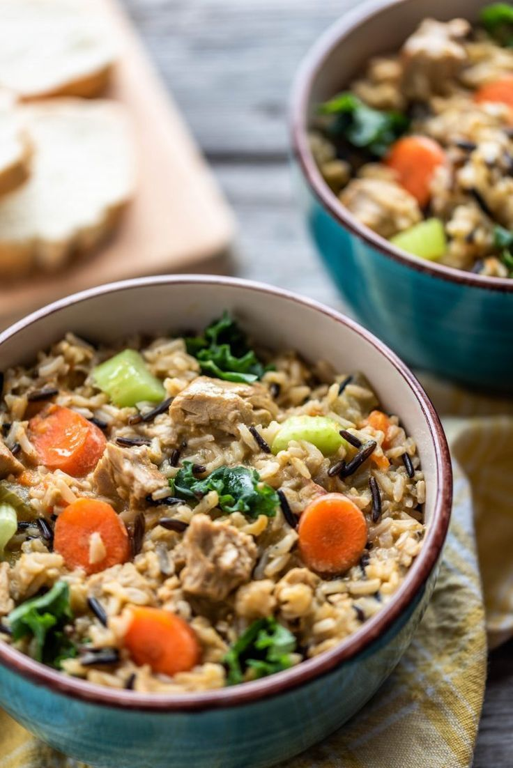 Hearty Instant Pot Chicken And Wild Rice Stew