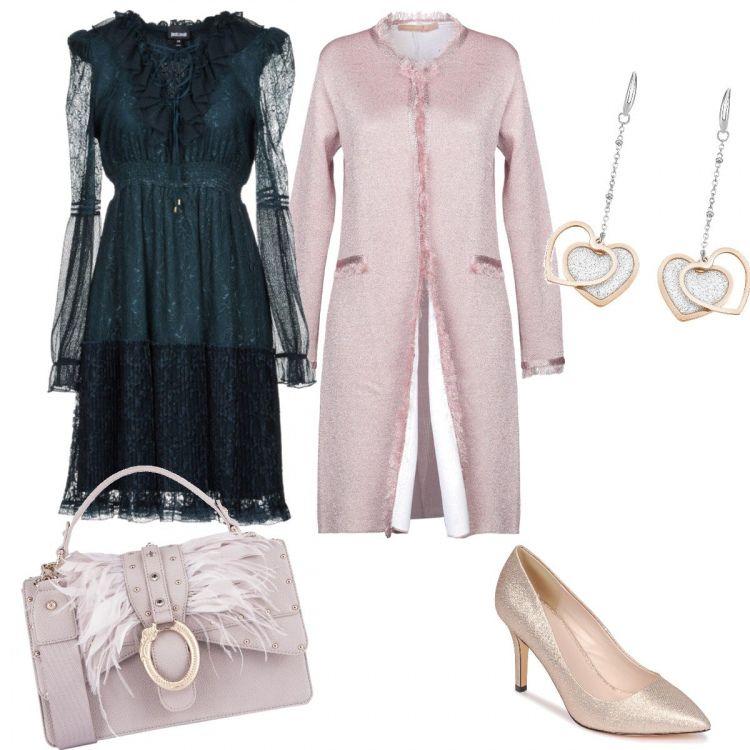 Borsa e orecchini perfetti per un regalo di San Valentino da abbinare con  un abito delicato 43a39242813