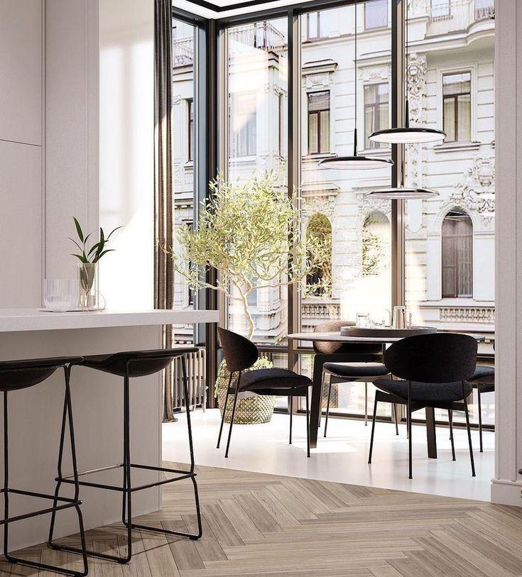 42 elegante schwarze Esszimmer Ideen #retroideas