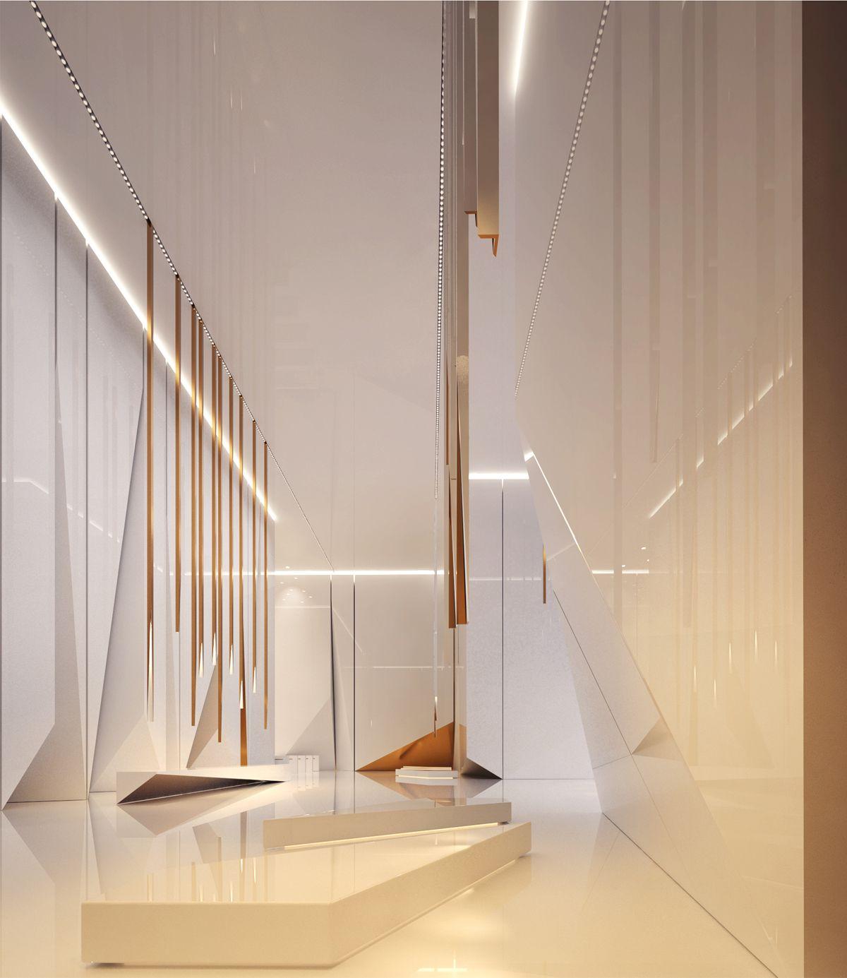 Lobby space on behance design hall interior also modern office interiors ideas hospitality rh pinterest