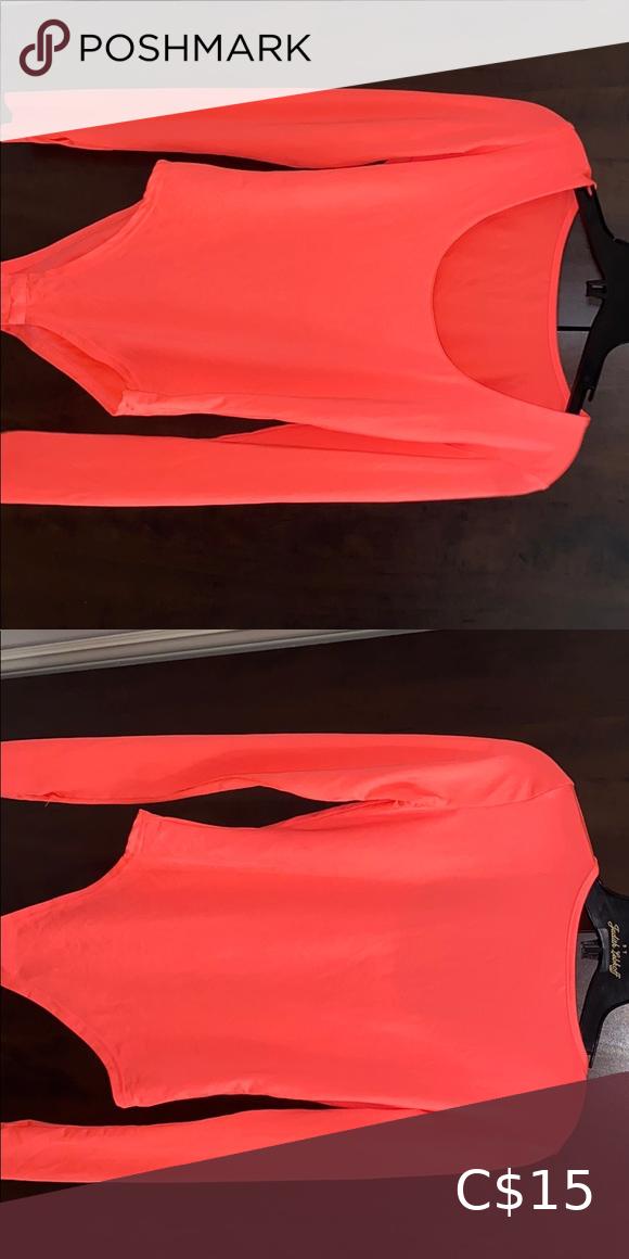✨Brand New✨Sexy Neon Pink Bodysuit