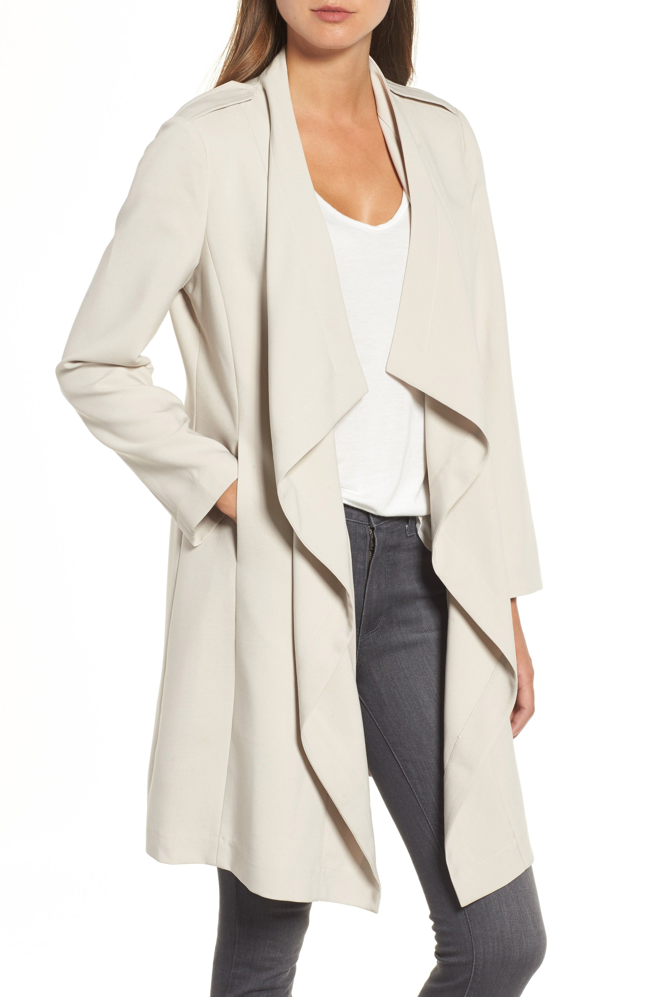 coat vince jacket hooded drape camuto drapes