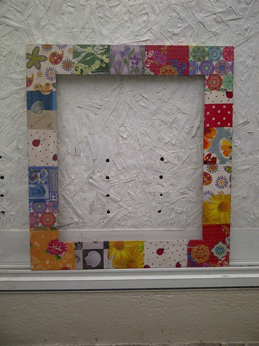 marcos de madera decorados para espejos o cuadros decoracion en