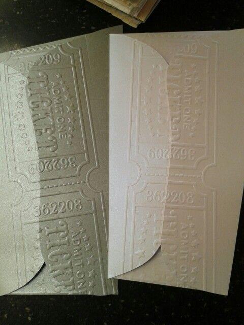 Sobres con texturas