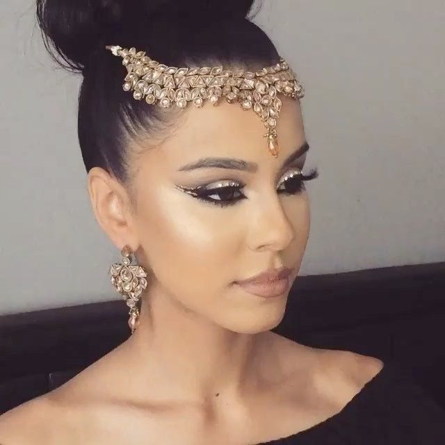 goddess leach headpiece wedding