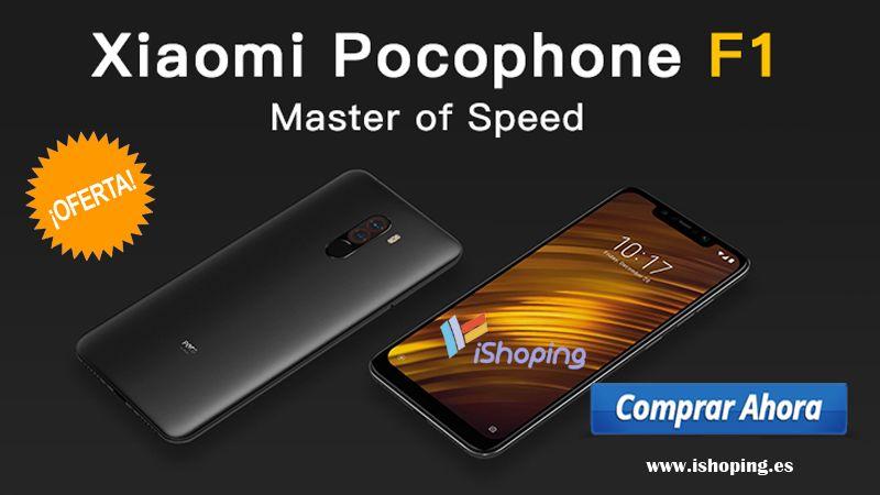 Xiaomi Pocophone F1 64gb En Azul Libre Alta Gama Xiaomi En Tienda