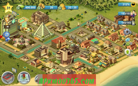 City Island 4 Town Sim Village Builder Mod Apk Unlimited Money And Gold City Island Fun Challenges City