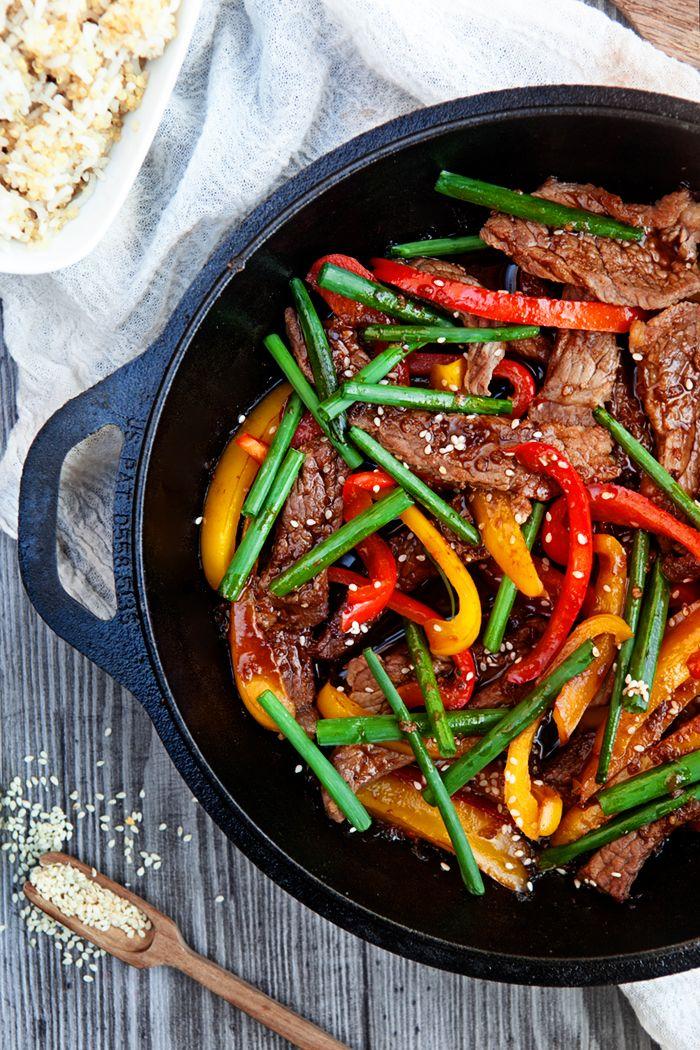 Healthy Beef Stir Fry Beef Dinner Healthy Beef Recipes Healthy Beef