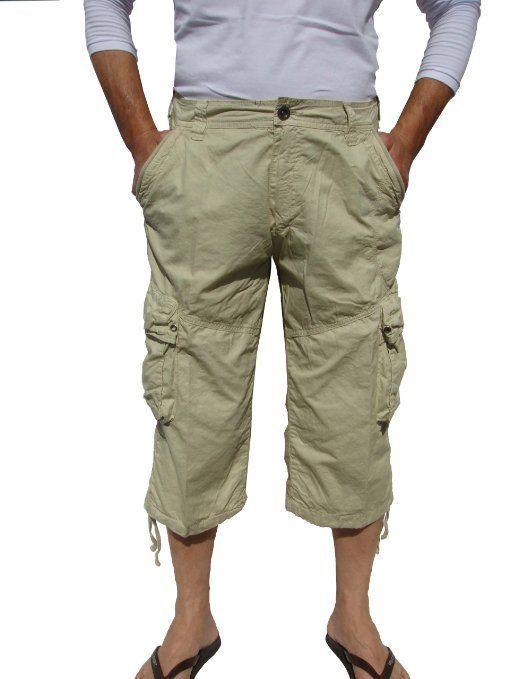 Black Grey hot pants pirate short trousers Shorts 38