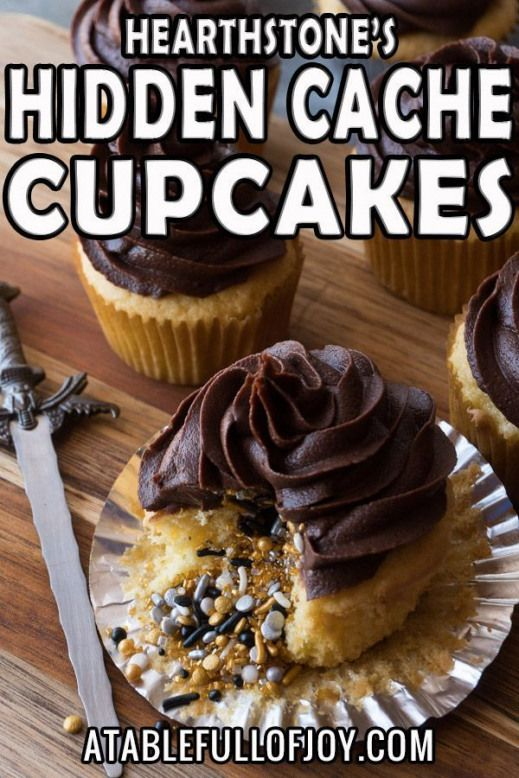 These yellow cupcakes are quick and easy to make taste delicious and are super fun with sprinkles in the middle!