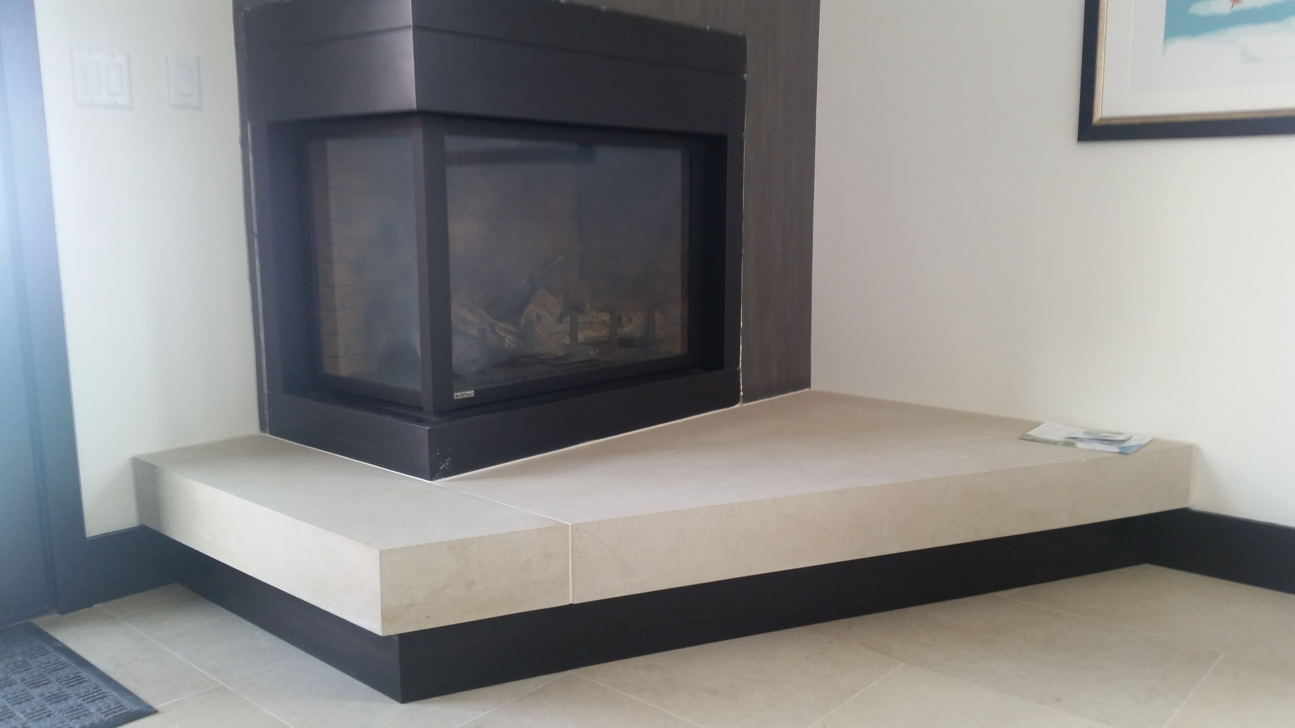 Pin by Evertops on Project in Limestone (Fireplace ...