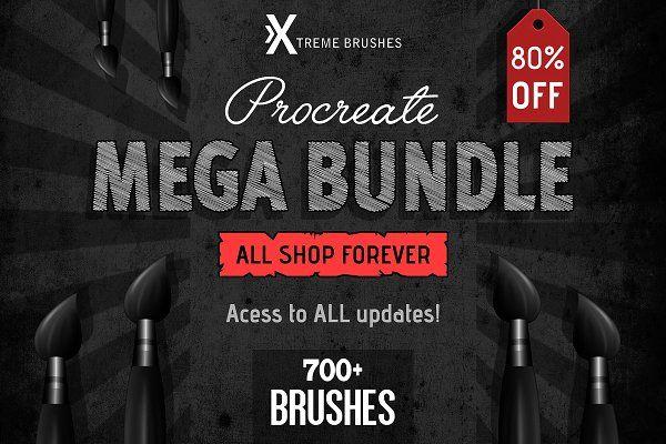 50 Dot Brushes for Adobe Illustrator Procreate, Brush