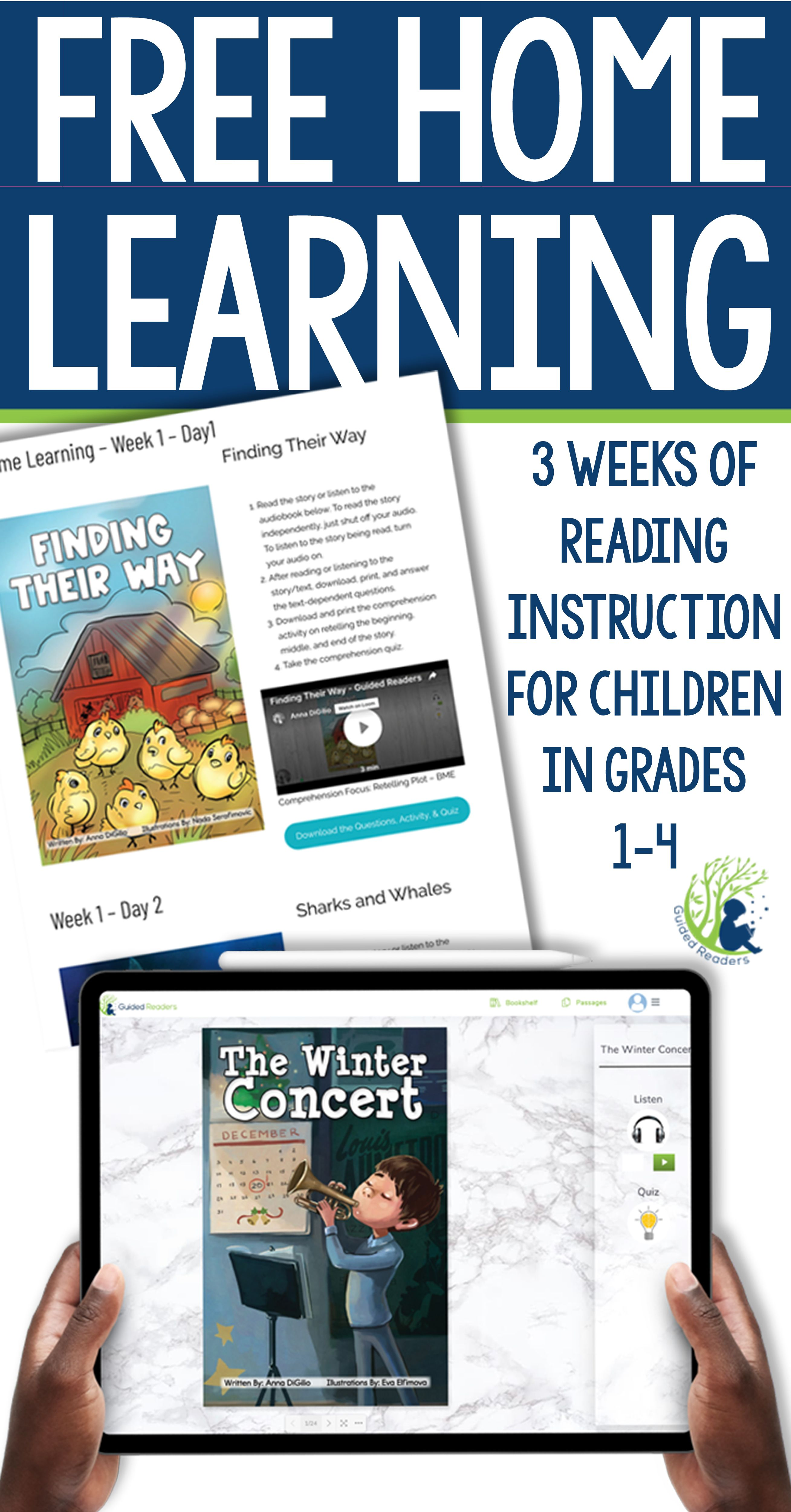 FREE Home Learning Resources Grades 1-4