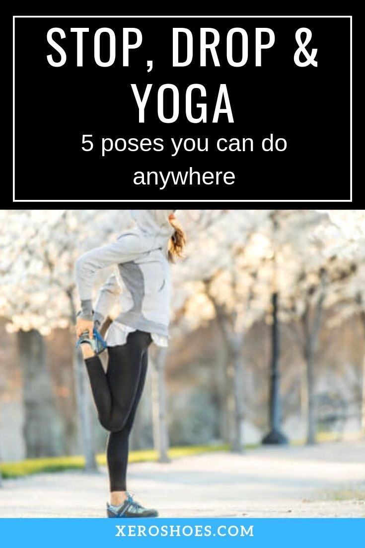 Great poses for post run stretches. Try these five yoga poses, for a warm up or a break and reset fr...