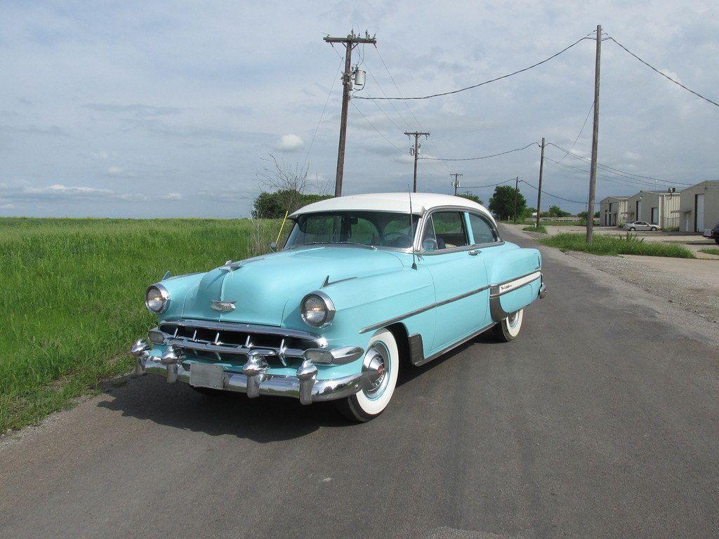 1954 Chevrolet Bel Air 2 Door Sedan Hipo Fifties Maniac Flickr Chevrolet Bel Air Chevrolet Sedan