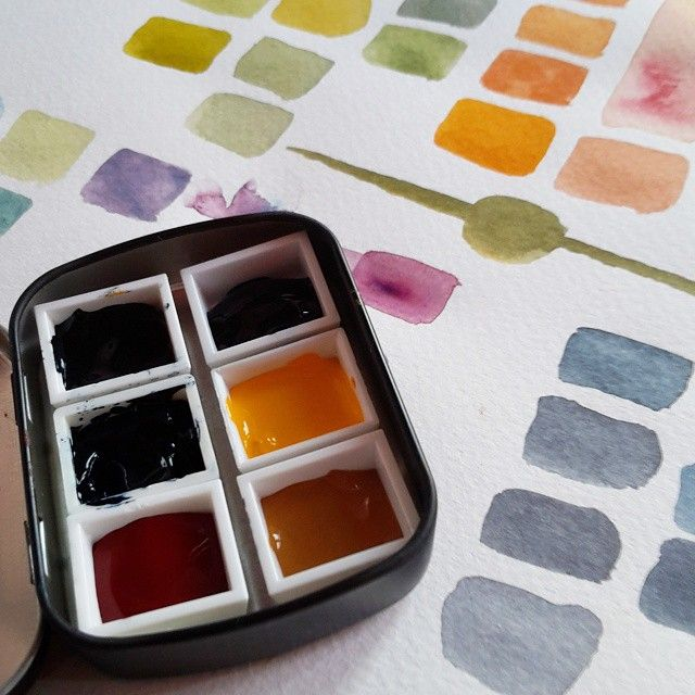 New Limited Palette Some Rigorous Testing I Think These Colours