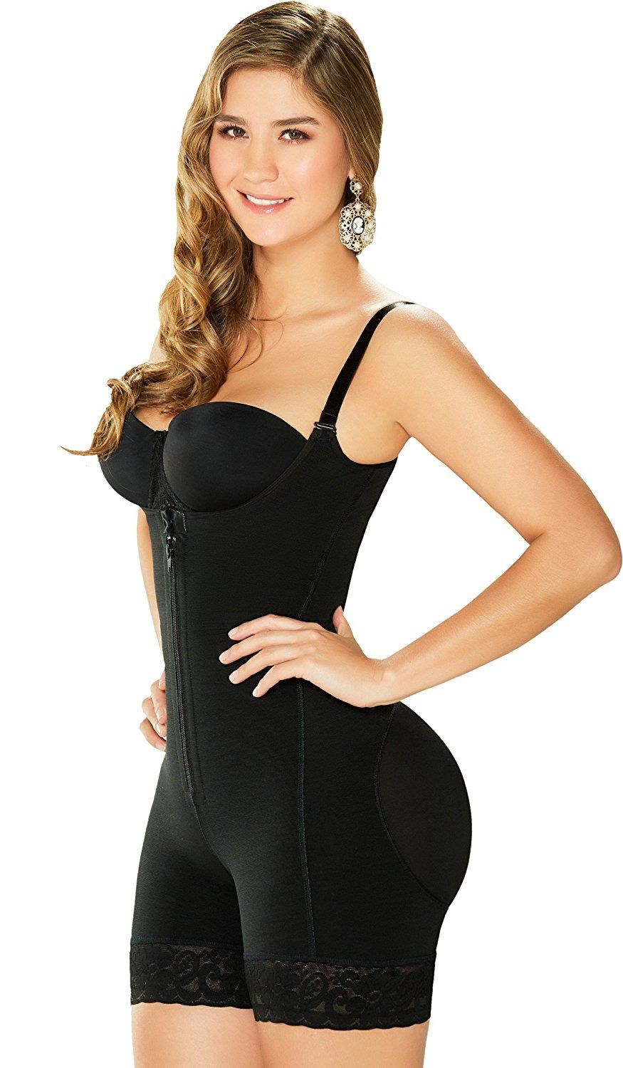 b38620a2c66d3 VEAMORS Sexy Womens Open Crotch Body Shaper