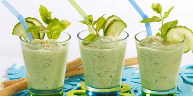 Milk-shake de concombre