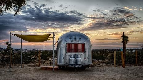 Airstream Queen Of The Desert Airstream Travel Trailer Camping Trailer Life