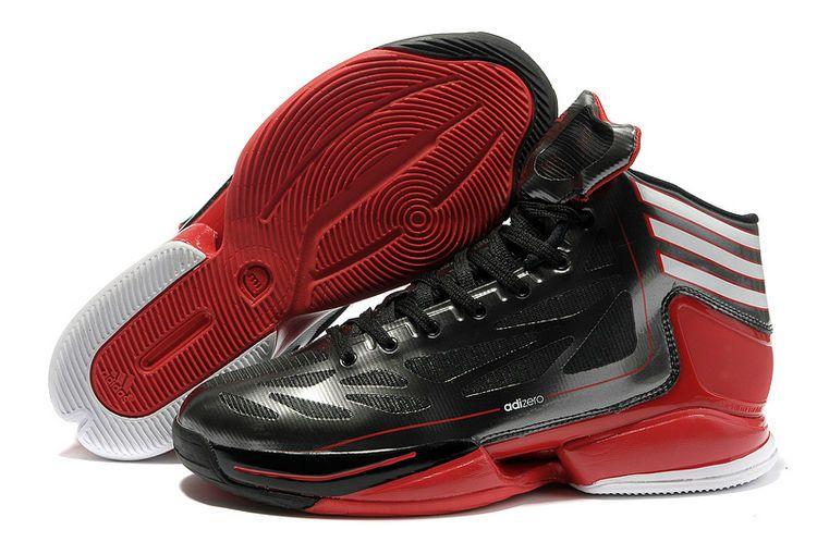 new styles eaf51 3e0d5 Adidas Basketball shoes 2012 AdiZero Crazy Light 2 Bred Black Red G48787