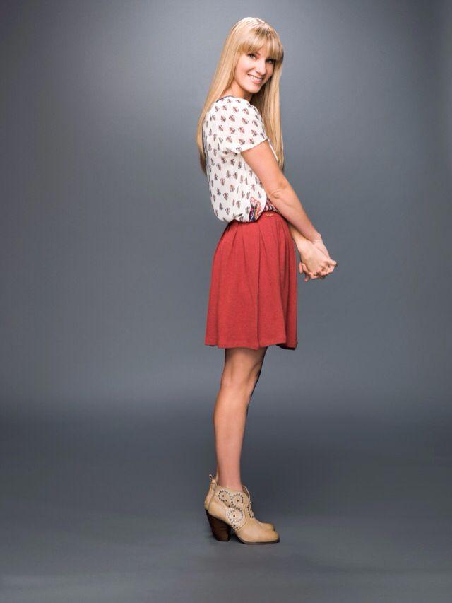 Heather Morris as Brittany in Glee's final season