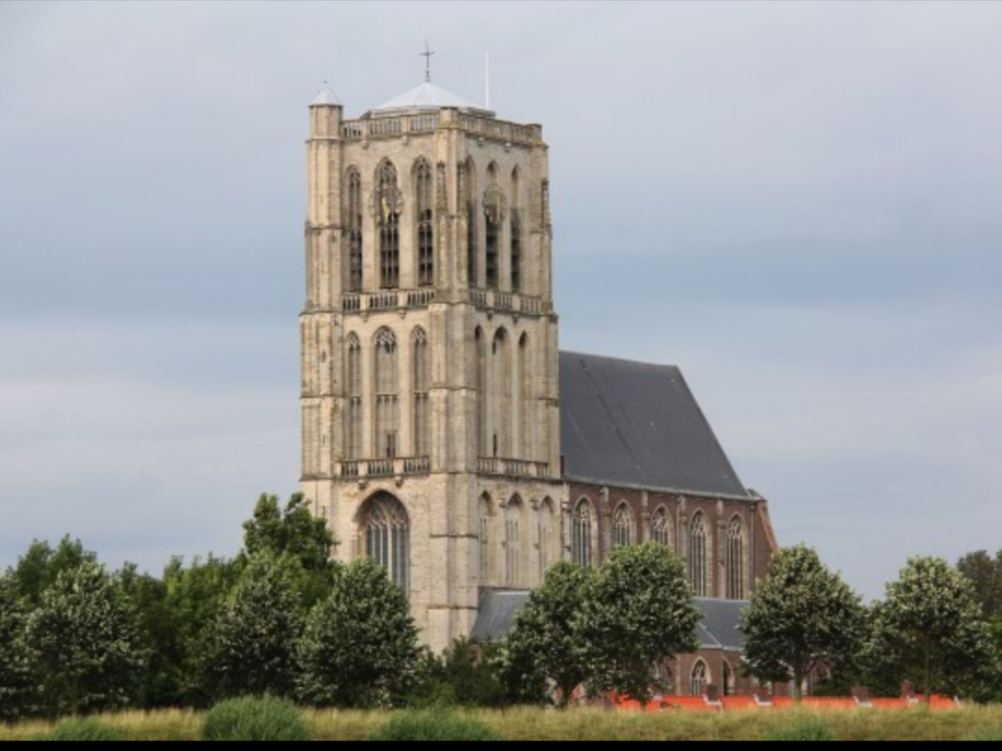 Sint-catharijnekerk brielle
