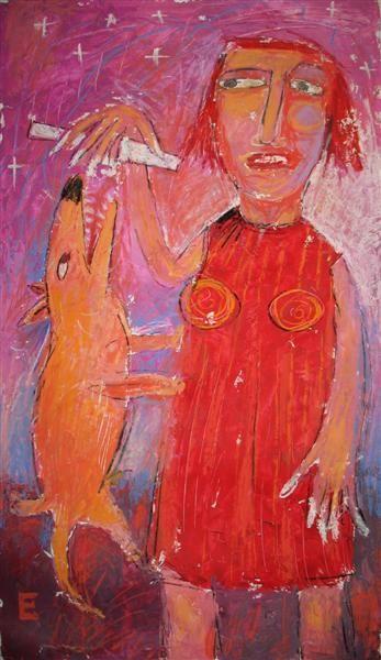 Elena schumacher 1969 werd geboren in rusland ze werkte als leraar op de kleuterschool het is - Bron schilderijen ...