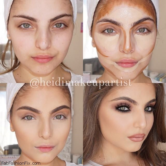 How To Highlight And Contour Your Face With Makeup Like A Pro Contour Makeup Beauty Makeup Looks
