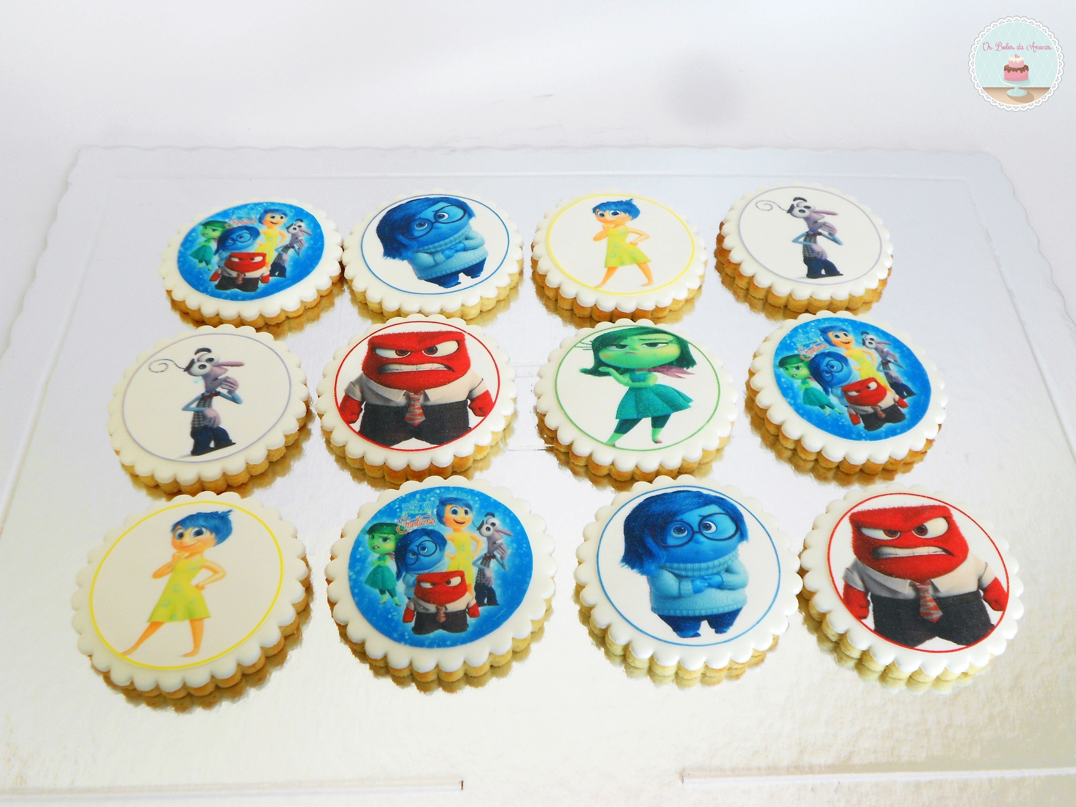 Inside Out Cookies /Bolachas Divertidamente
