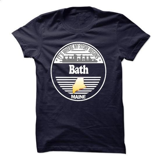 Bath  - Its Where My Story Begins! - #shirtless #tie dye shirt. PURCHASE NOW => https://www.sunfrog.com/No-Category/Bath--Its-Where-My-Story-Begins-19296126-Guys.html?68278
