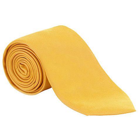 fc2a2004760c Buy John Lewis Fine Twill Plain Silk Tie Online at johnlewis.com