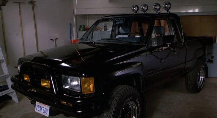 Back To The Future 1985 Toyota 4x4 Xtra Cab Truck Toyota Toyota 4x4 Toyota Pickup 4x4