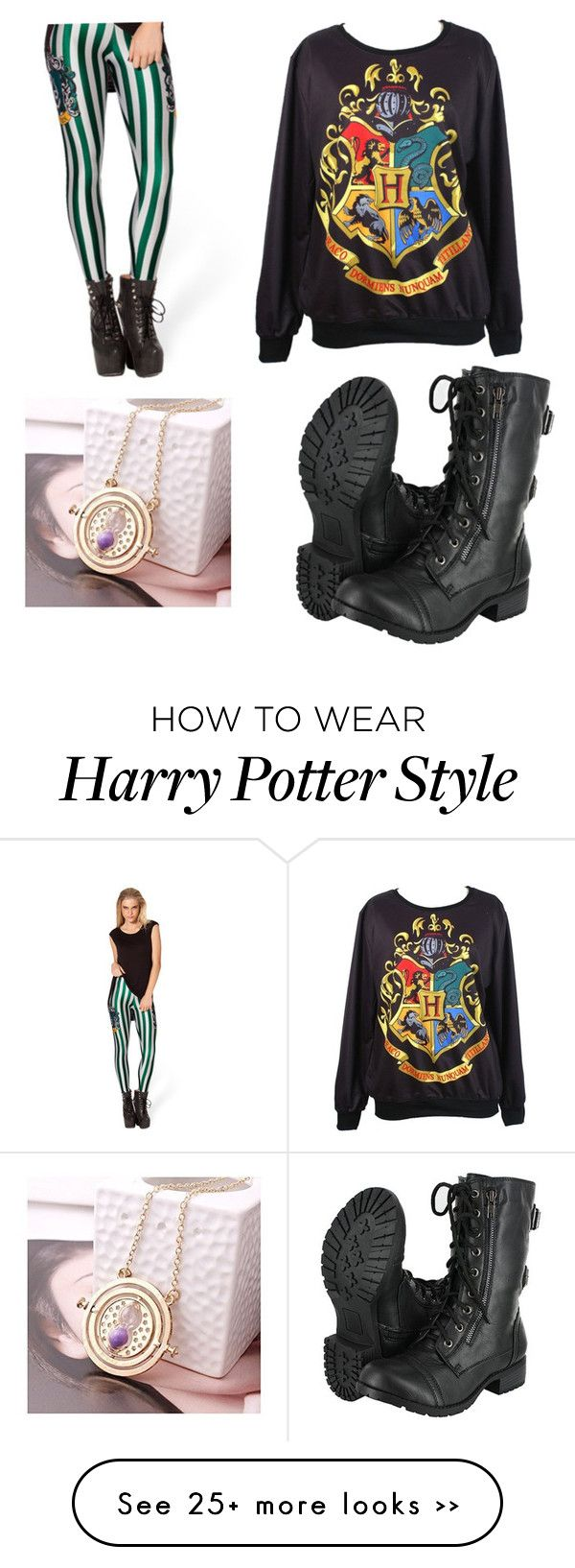 """Harry Potter"" by ash102714 on Polyvore"