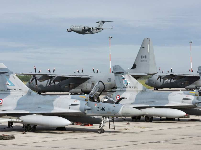 Photos Exercise Maple Flag Preparing Aircrew For The Battlespace Dassault Aviation Fighter Jets Mirage