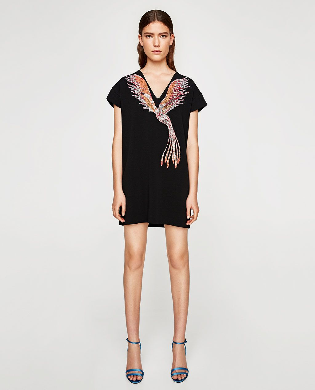 af11cb46094f PRINTED RUBBERISED DRESS-BEST SELLERS-WOMAN | ZARA United States ...