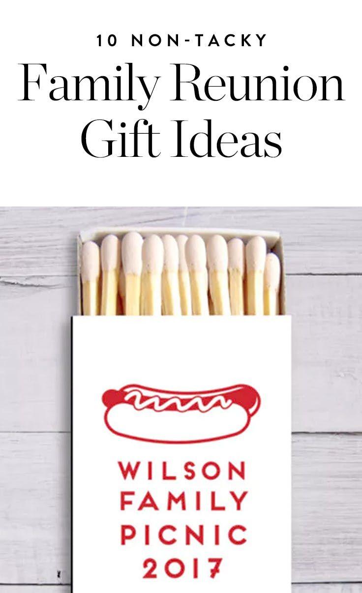 10 Non Tacky Family Reunion Gift Ideas Reunion Goodie