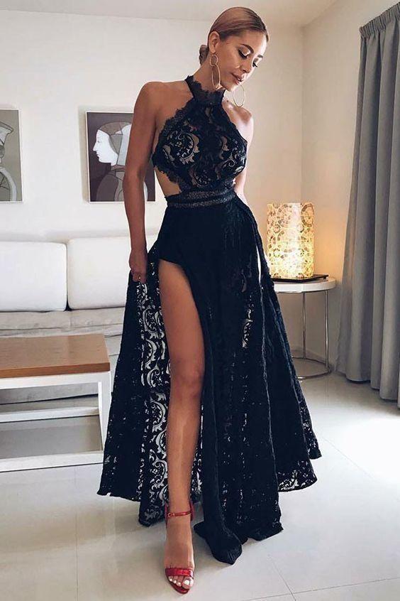 35+ Black backless prom dress uk ideas