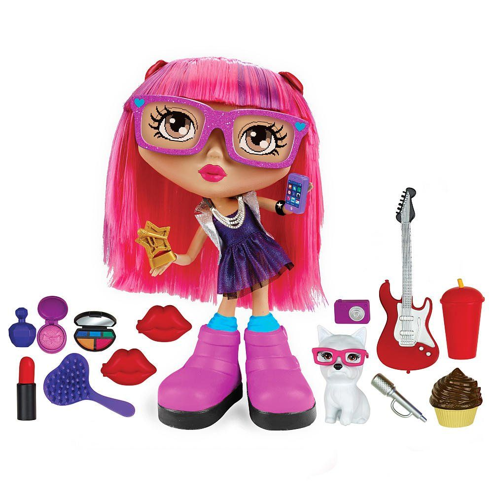 Chatsters Pop Star Gabby Interactive Doll There Are Plenty Of Ways To Chat And Play With The Chatsters Pop Star Gabby I Spin Master Toys Holiday Toys Dolls