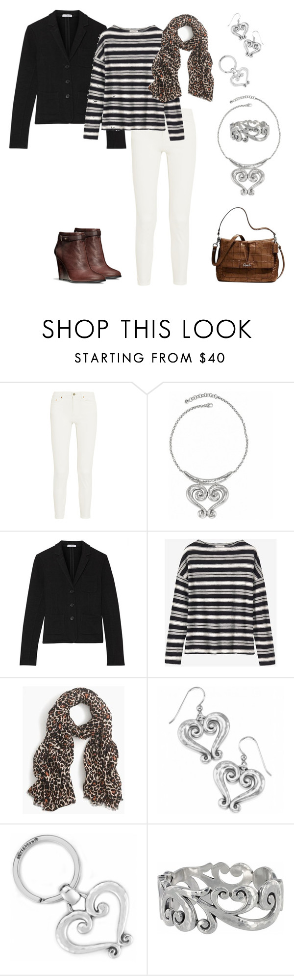 """Untitled #244"" by aimemcc13 on Polyvore featuring Acne Studios, James Perse, J.Crew and Coach"