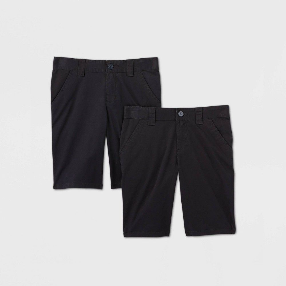 Cat /& Jack Girls Size 14 Khaki Chino Bermuda Shorts School Uniform