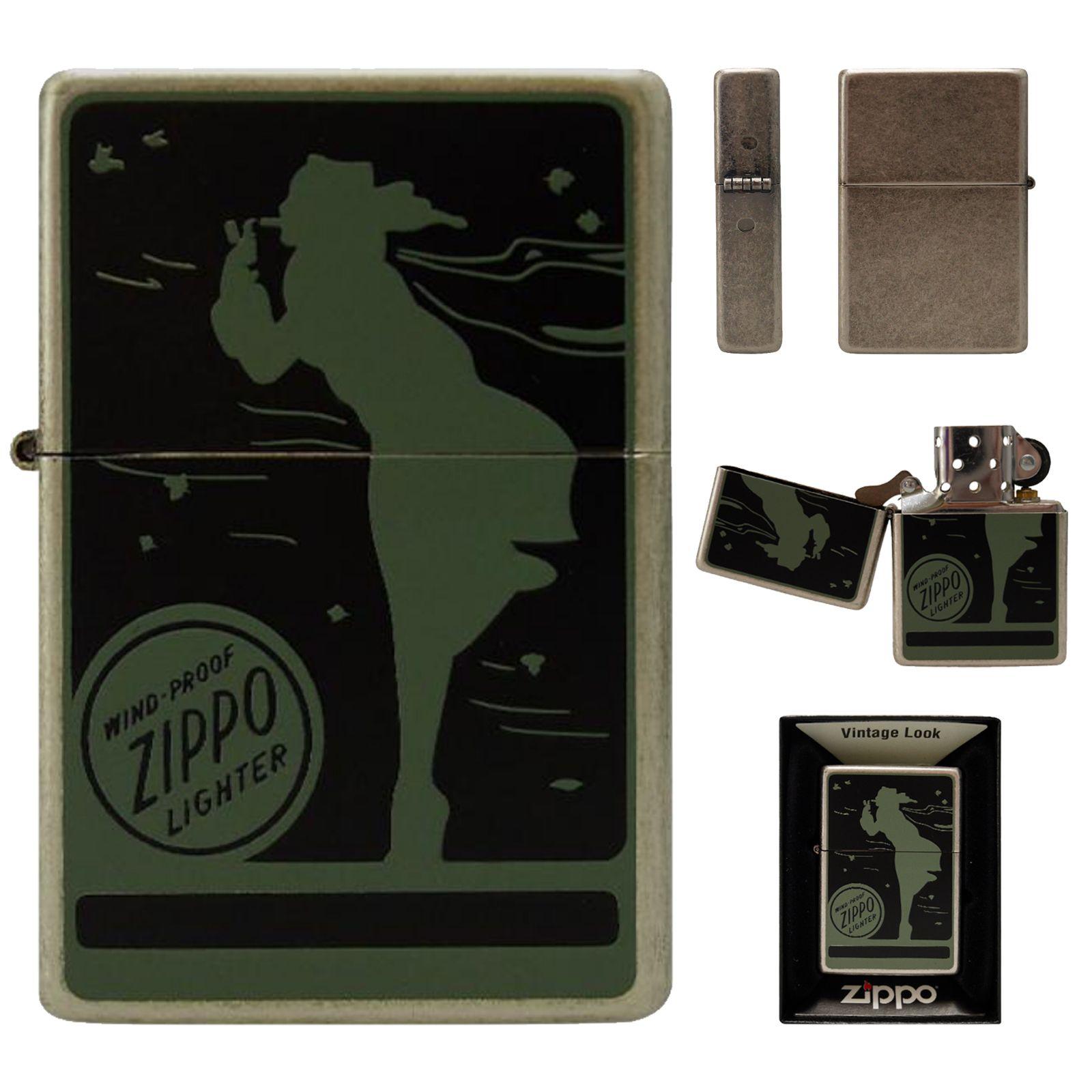 Zippo Lighter Newtro Windy Mt Silver Antique Vintage Brass Windproof Gift Ebay In 2020 Zippo Lighter Zippo Vintage Brass