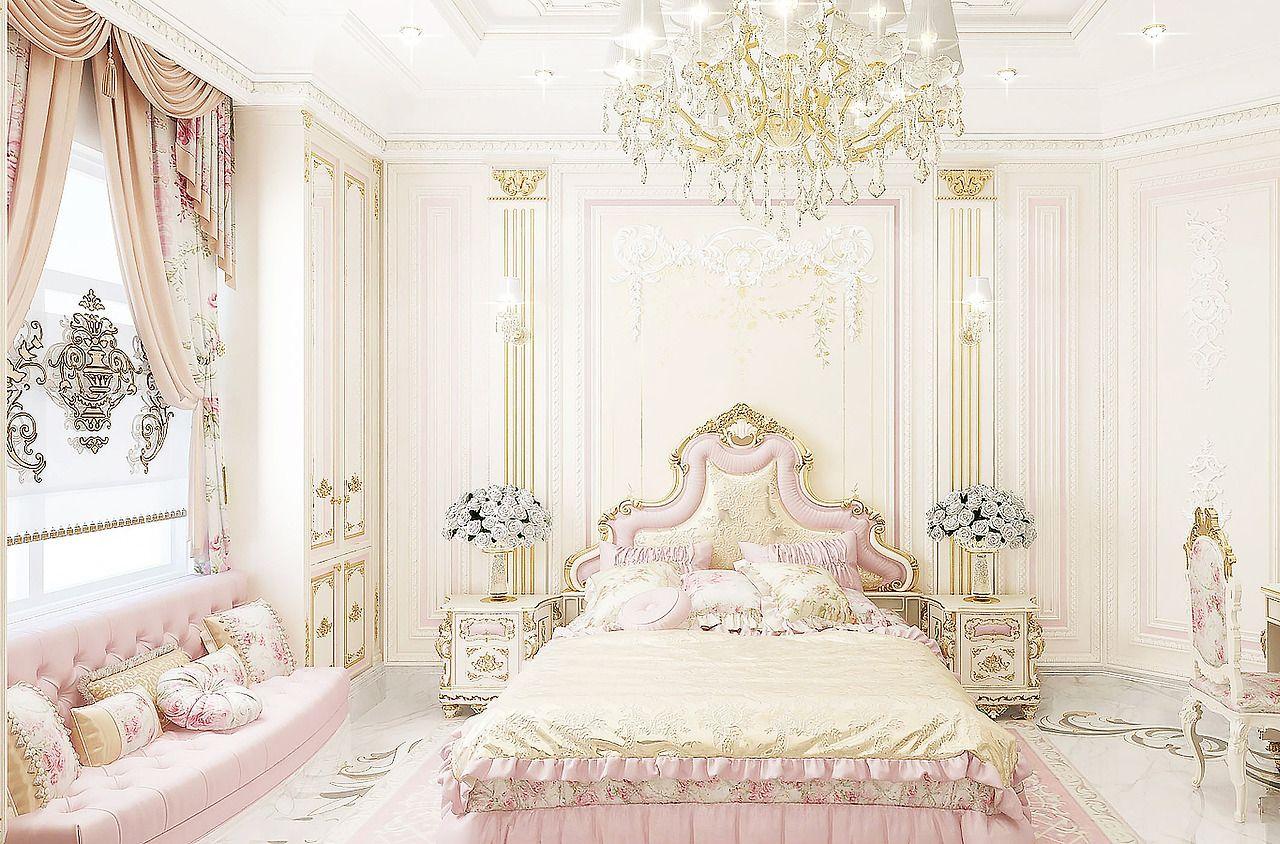 Sapere Aude Luxury Bedroom Design Pink Bedroom Design Pink Bedroom Walls Pink modern luxury room