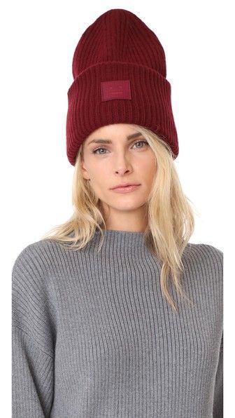 ACNE STUDIOS Pansy L Face Hat.  acnestudios  hat  42407af2e075