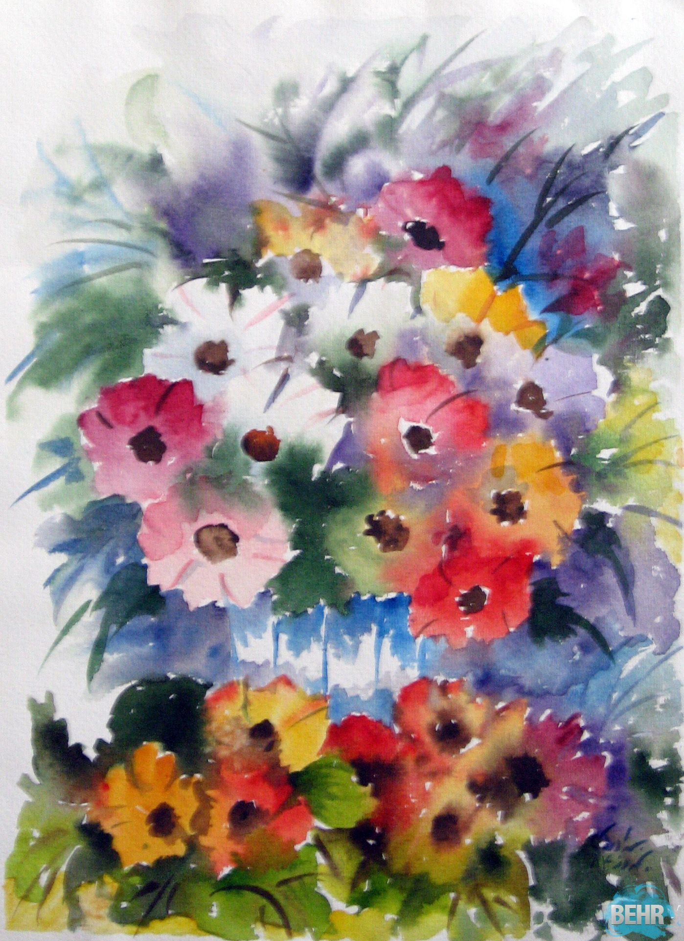 Roses are beautiful in any setting they can create elegant bouquets they can create elegant bouquets and centerpieces and rainbow bouquetpaintings of flowersmemorable izmirmasajfo Choice Image