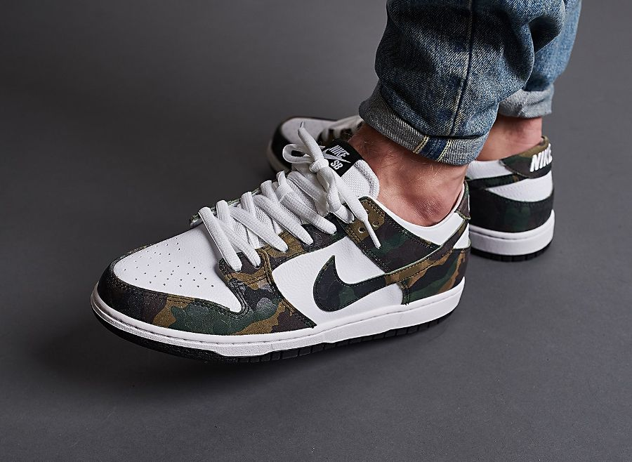 best sneakers 81986 7af13 where to buy nike dunk low pro sb qs camo legion green homme femme 0e7e9  126b1