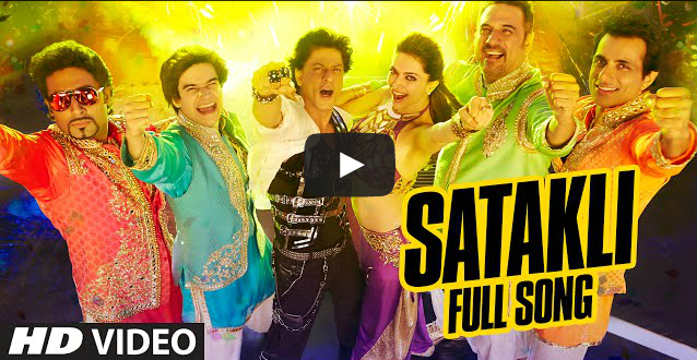 Official Satakli Full Video Song Happy New Year Shah Rukh Khan Sukhwinder Singh Happy New Year Bollywood Happy New Year Movie Happy New Year Song