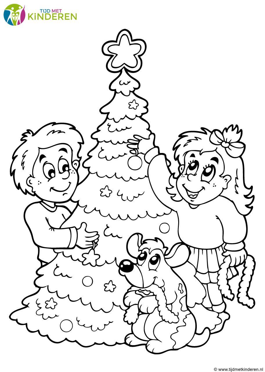 Kleurplaten Printen Kerstboom.Kerstboom Kleurplaat 38 Mooie Kleurplaten Kerstboom Idee Kleurplaat
