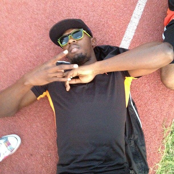 Bolt laid on track