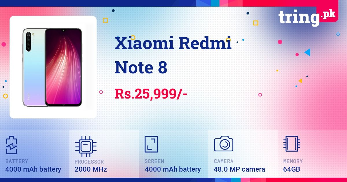 Xiaomi Redmi Note 8 Price In Pakistan Mobile Phone Repair Mobile Phone Shops Samsung Galaxy